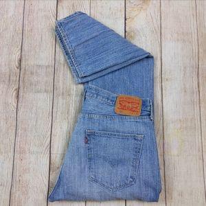 Levis 501 100% Cotton Medium Wash Button Fly Jeans